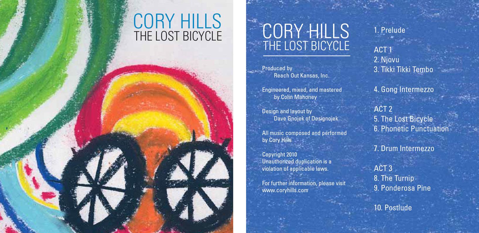 Cory Hills album cover