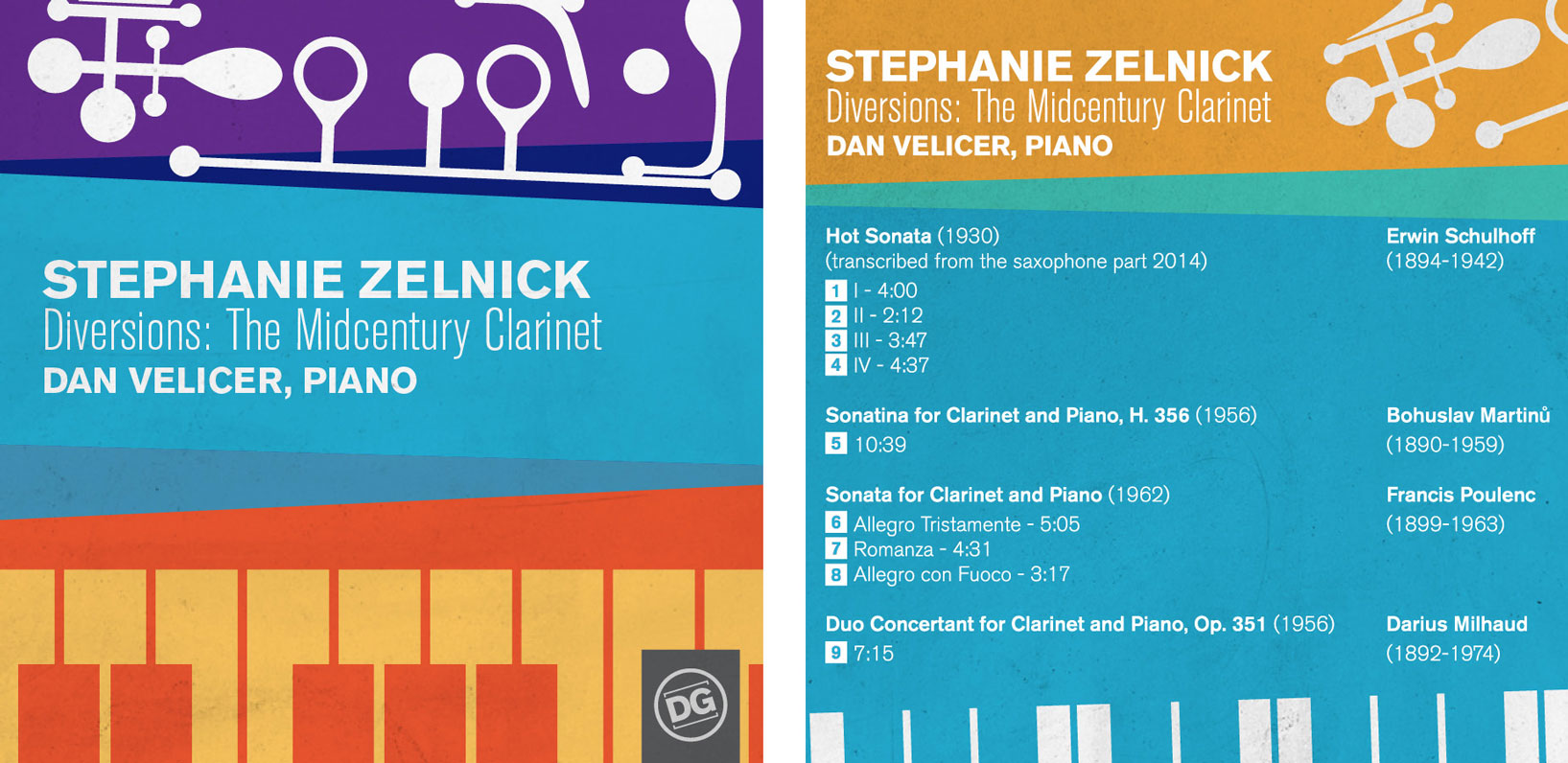 Stephanie Zelnick cover - Diversions