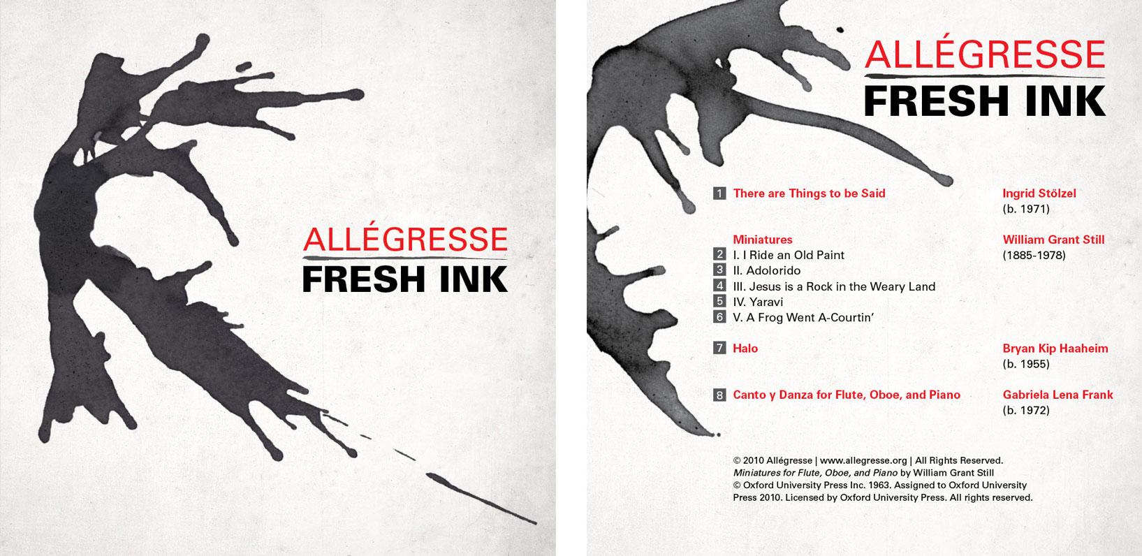 Allegresse - Fresh Ink album cover