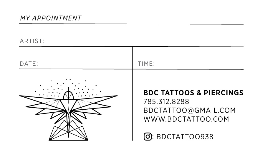 BDC business card front