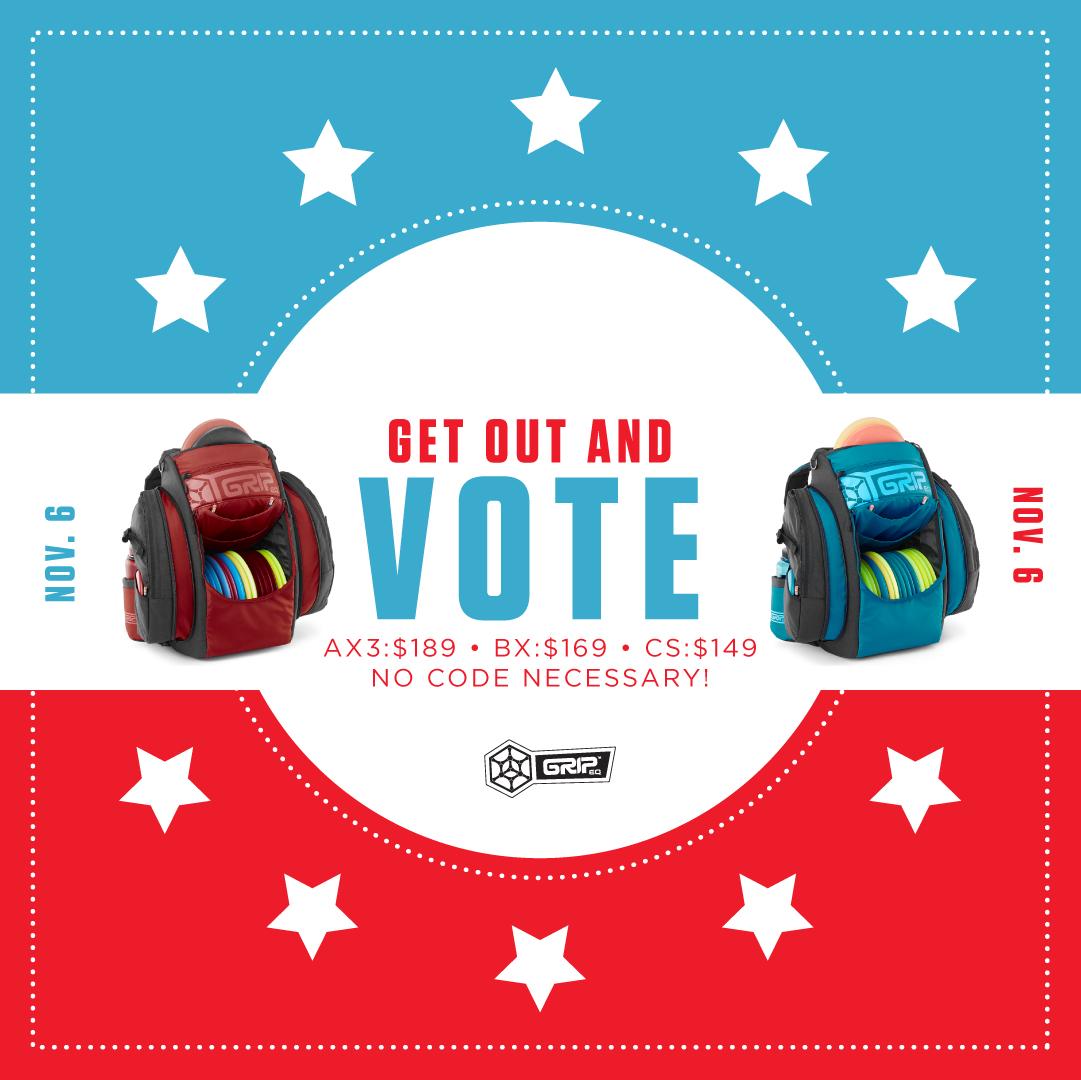 GRIPeq voting social promo graphic