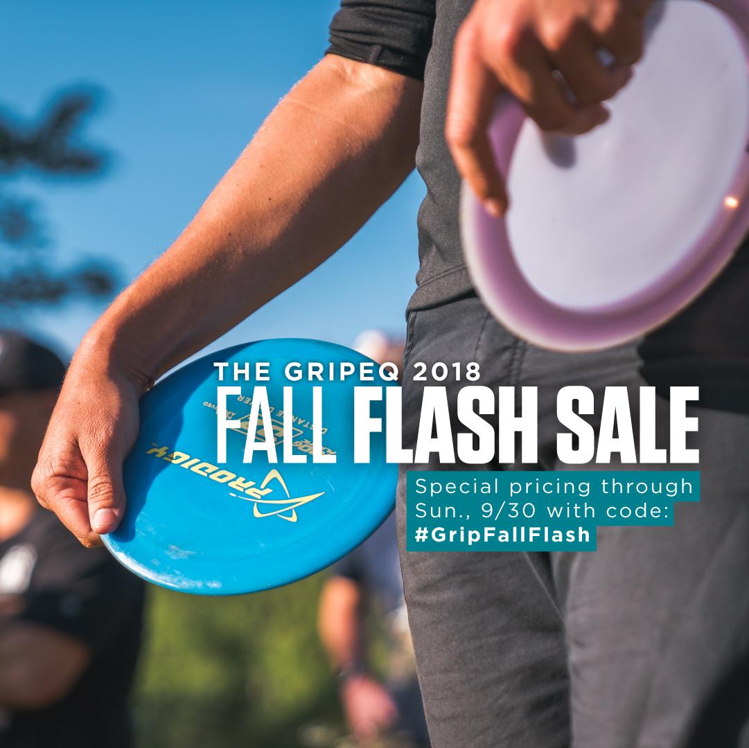 GRIPeq flash sale social promo graphic