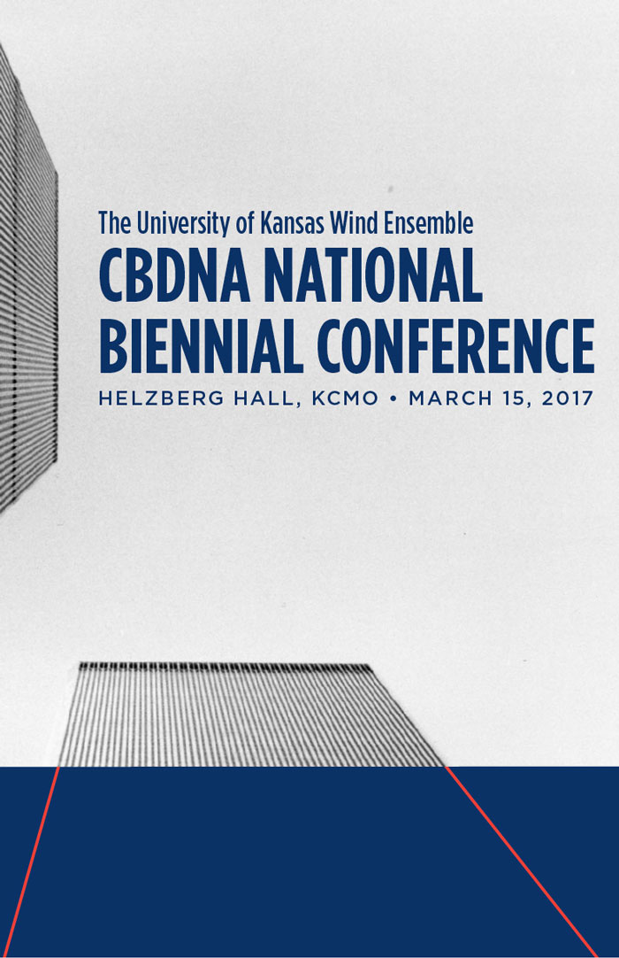 CBDNA poster with twin towers image