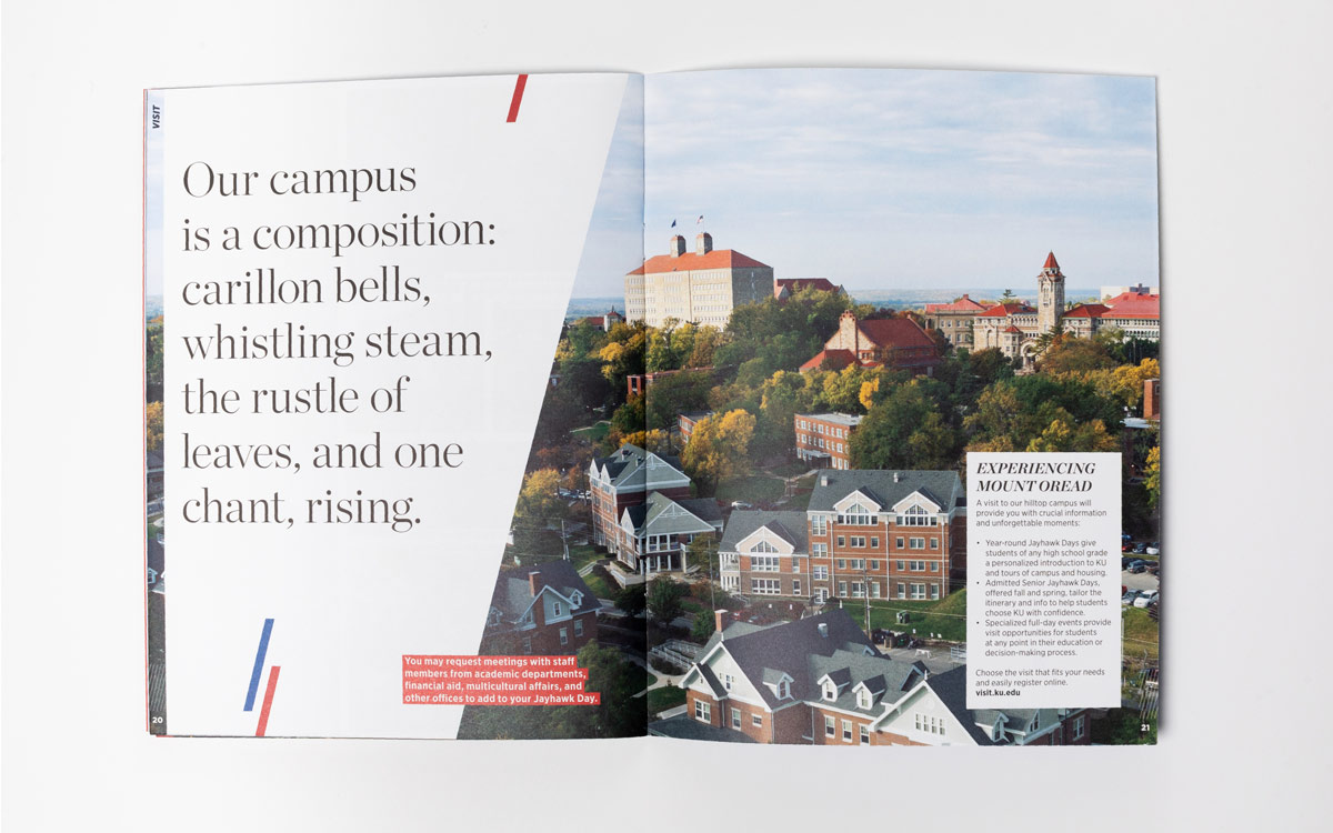 KU Viewbook shot of campus