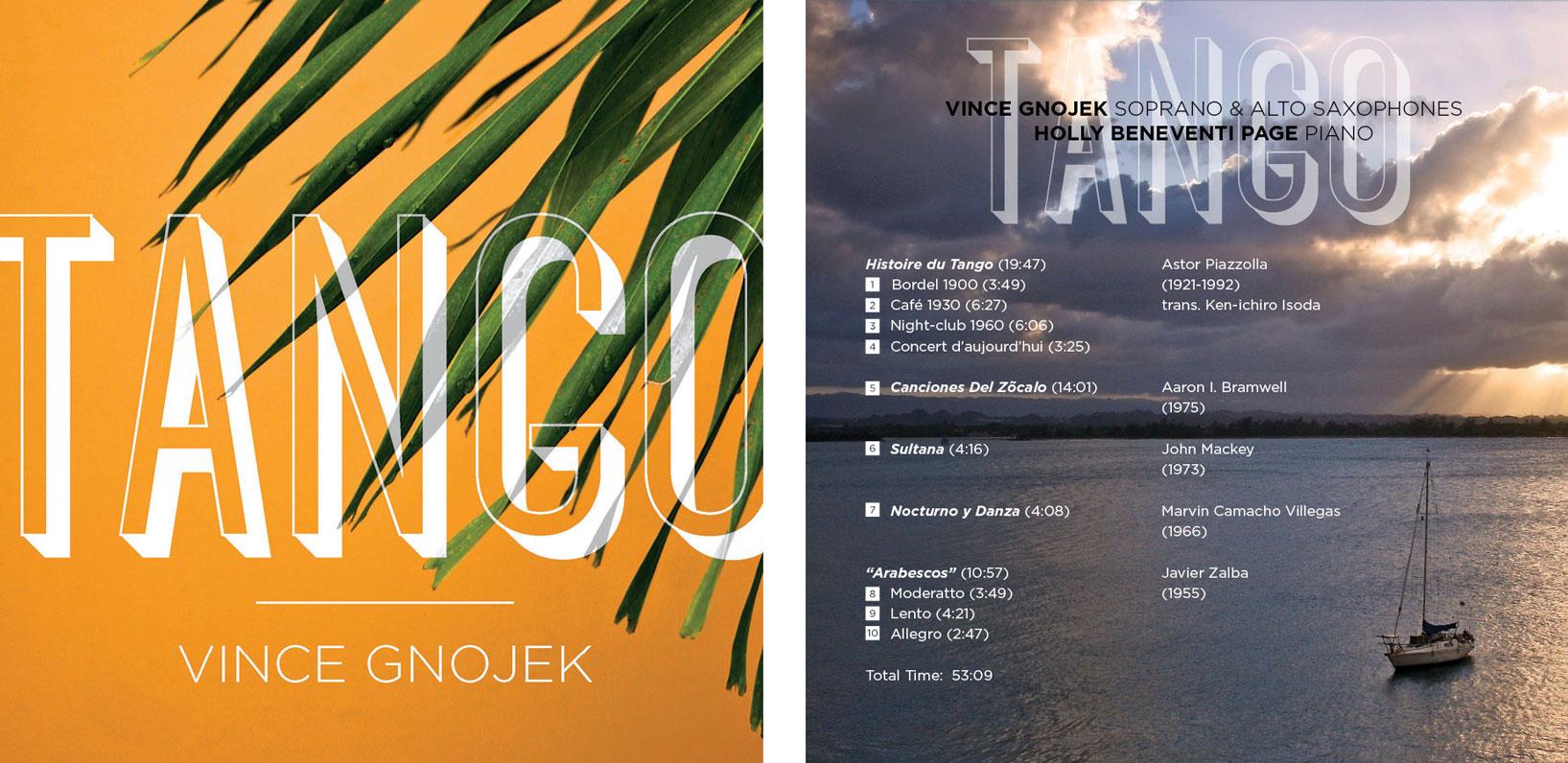Vince Gnojek - Tango album cover