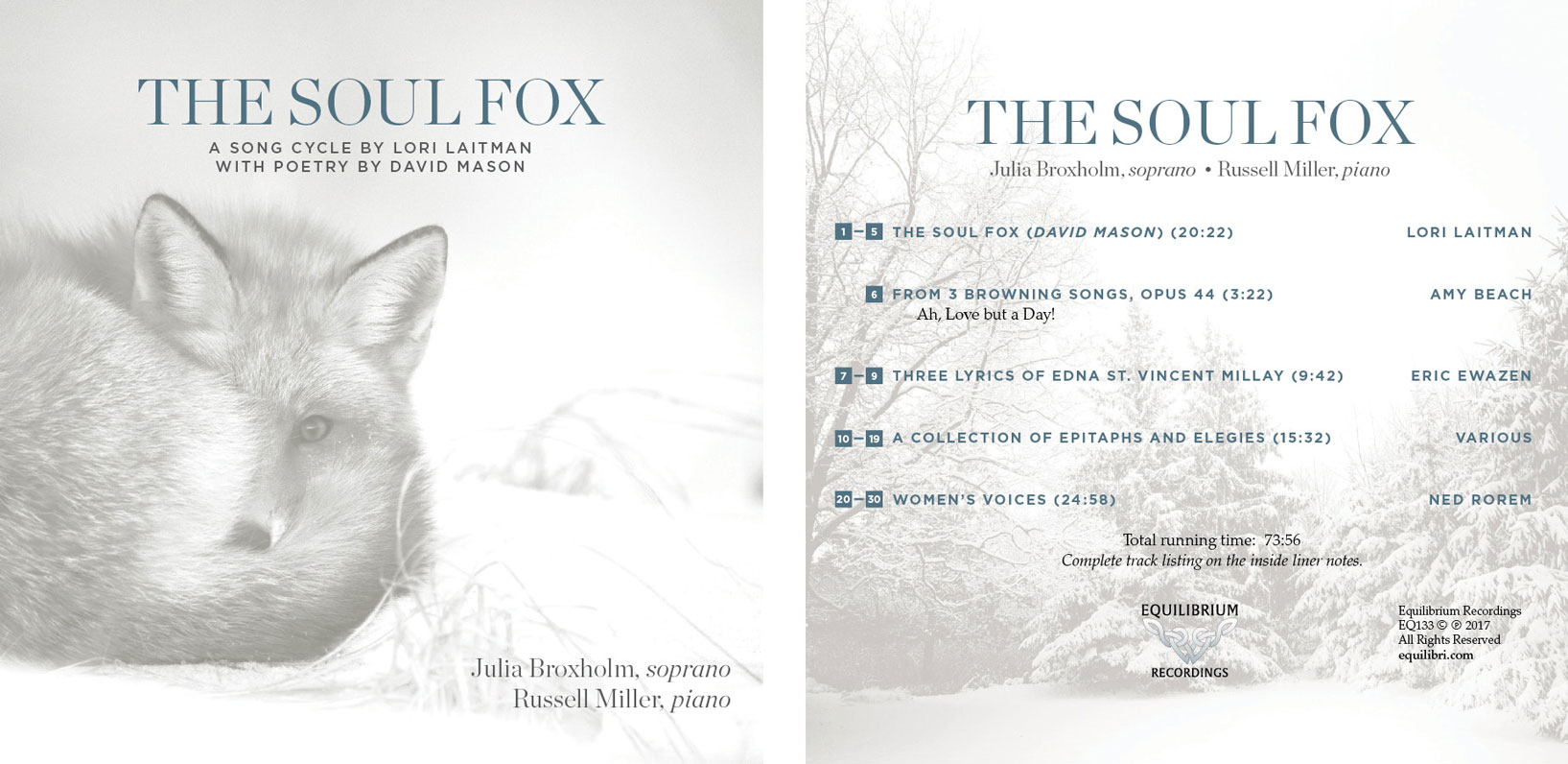 The Soul Fox album cover - Julia Broxholm
