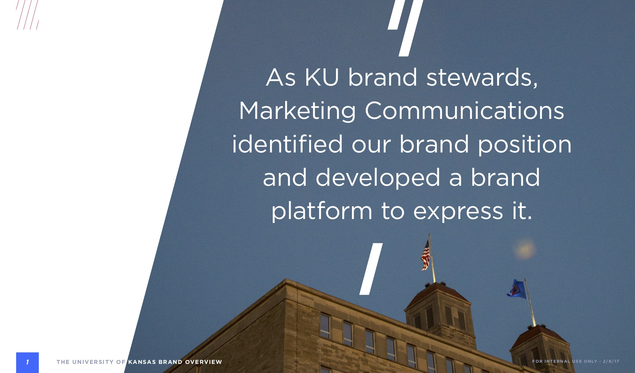 KU Brand book spread