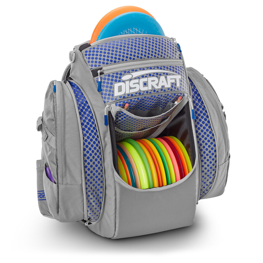GRIPeq Discraft disc golf bag