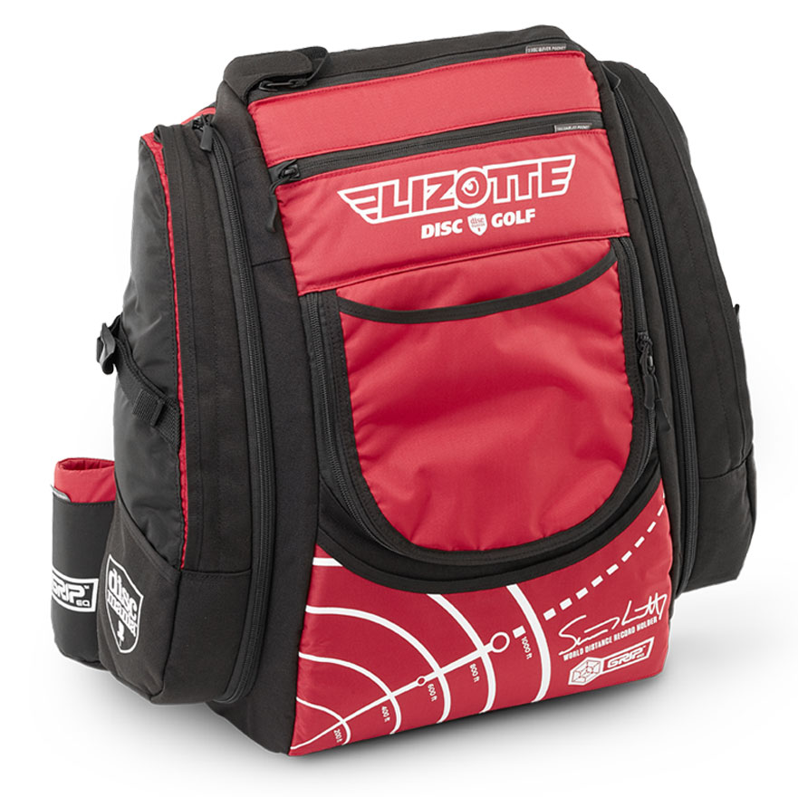 GGRIPeq Simon Lizotte disc golf bag
