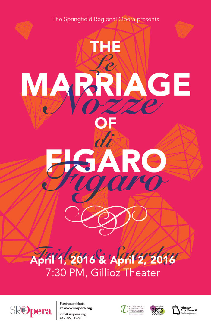 poster for Marriage of Figaro