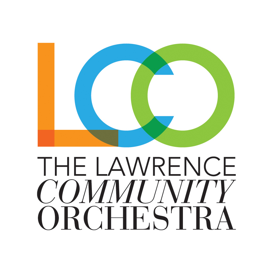 Lawrence Community Orchestra logo